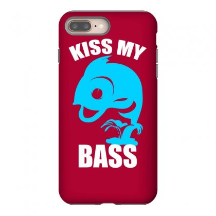 Kiss My Bass Iphone 8 Plus Case Designed By Specstore