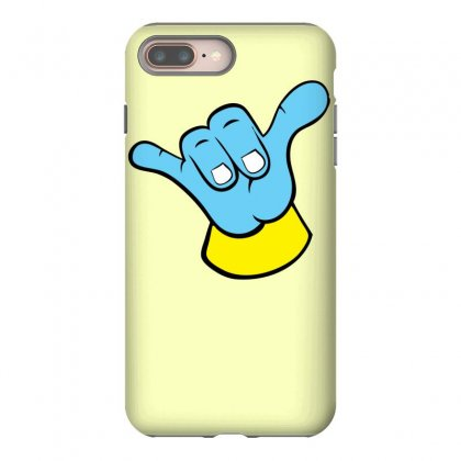 Hang Loose Big Blue Iphone 8 Plus Case Designed By Specstore