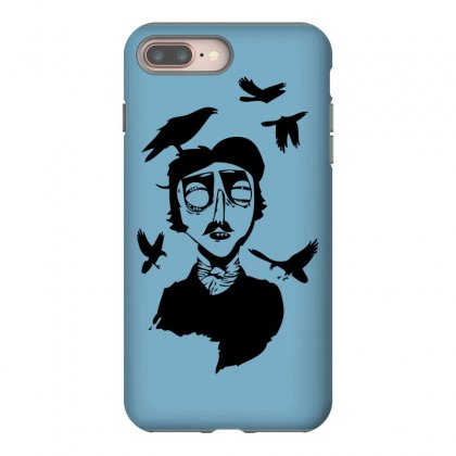 Edgar Allan Poe Iphone 8 Plus Case Designed By Specstore