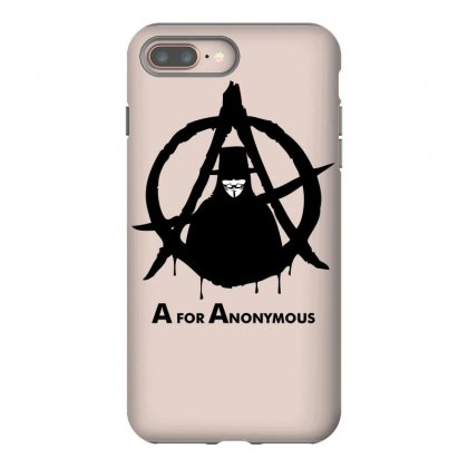 A For Anonymous Iphone 8 Plus Case Designed By Specstore