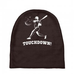 touchdown   funny sports Baby Beanies | Artistshot