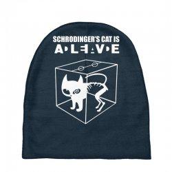 the big bang theory sheldon cooper schrodinger's cat Baby Beanies | Artistshot