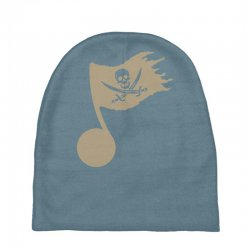 music pirate Baby Beanies | Artistshot