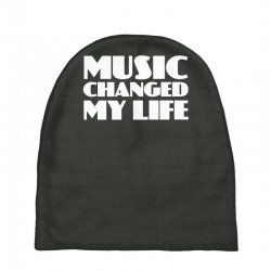 music changed my life Baby Beanies | Artistshot