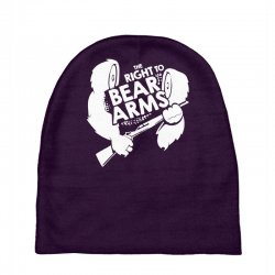 the right to bear arms Baby Beanies | Artistshot