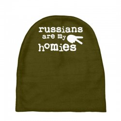 russians are my homies Baby Beanies | Artistshot