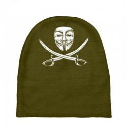 mask of modern mutiny Baby Beanies   Artistshot