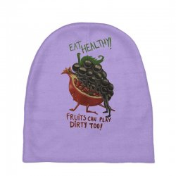 eat fruits Baby Beanies | Artistshot