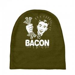 love bacont fun ny Baby Beanies | Artistshot