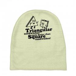 triangular sandwiches Baby Beanies   Artistshot