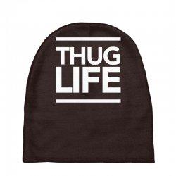 thug life Baby Beanies   Artistshot