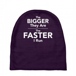 the bigger they are the faster Baby Beanies | Artistshot