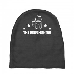 the beer hunter Baby Beanies | Artistshot