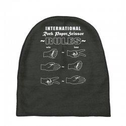 rock paper scissor international Baby Beanies | Artistshot