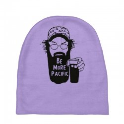 be more pacific Baby Beanies | Artistshot
