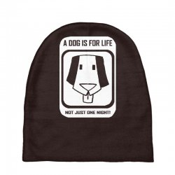 a dog is for life Baby Beanies | Artistshot