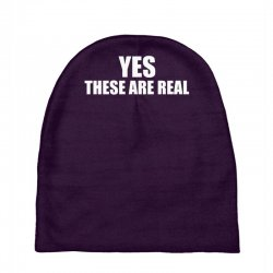 yes these are real funny Baby Beanies | Artistshot
