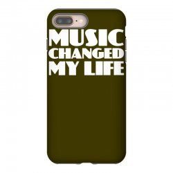 music changed my life iPhone 8 Plus Case | Artistshot