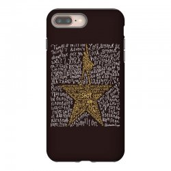 Hamilton Typography iPhone 8 Plus | Artistshot