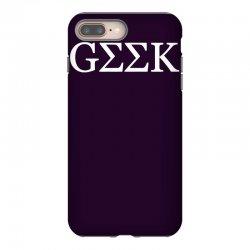 geek greek iPhone 8 Plus Case | Artistshot
