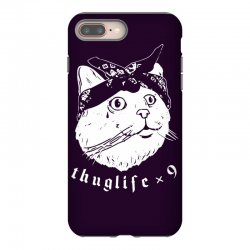 thug cat iPhone 8 Plus Case | Artistshot