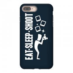 eat sleep shoot iPhone 8 Plus Case | Artistshot