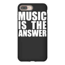 music is the answer printed iPhone 8 Plus Case | Artistshot