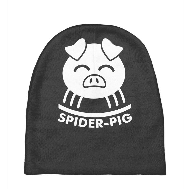 11c5964061f Custom Spider Pig Baby Beanies By Printshirts - Artistshot
