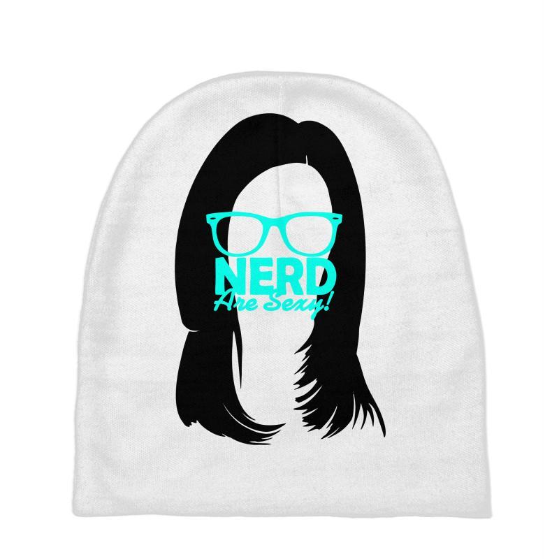 Custom Nerd Are Sexy Baby Beanies By Printshirts - Artistshot 607a35b1e478
