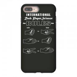 rock paper scissor international iPhone 8 Plus Case | Artistshot