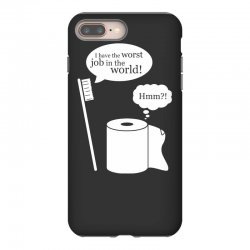 i have the worst job in the world! iPhone 8 Plus Case | Artistshot