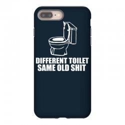 different toilet, same old shit iPhone 8 Plus Case | Artistshot