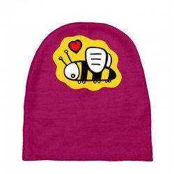 love bee lover valentine Baby Beanies   Artistshot