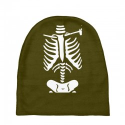 funny bone skeleton Baby Beanies | Artistshot
