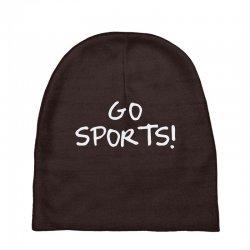 go sports! Baby Beanies   Artistshot