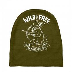 wild and free Baby Beanies | Artistshot