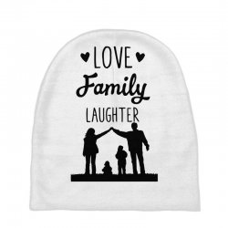 love family laughter Baby Beanies | Artistshot