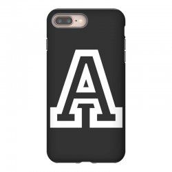 A Initial Name iPhone 8 Plus Case | Artistshot
