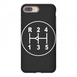 sports car gear knob, transmission shift pattern iPhone 8 Plus Case | Artistshot