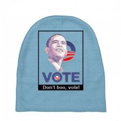 Vote Obama Baby Beanies   Artistshot