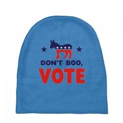 Don't Boo Vote 02 Baby Beanies | Artistshot