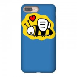 love bee lover valentine iPhone 8 Plus Case | Artistshot