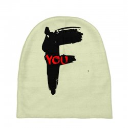 funny mens t shir 'f'yout Baby Beanies | Artistshot