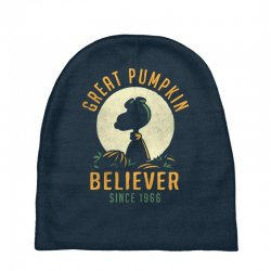 Great Pumpkin Believer Baby Beanies | Artistshot
