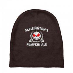 Skellington'spumpkin ale Baby Beanies | Artistshot