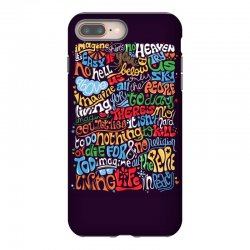 funny john lennon imagine quote iPhone 8 Plus Case | Artistshot