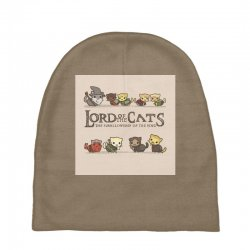 Lord Of The Cats Baby Beanies | Artistshot