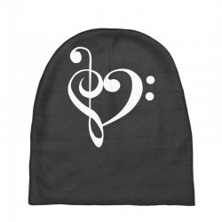 music heart rock baseball Baby Beanies   Artistshot