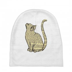 cats text Baby Beanies | Artistshot