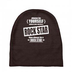 funny rock star Baby Beanies | Artistshot